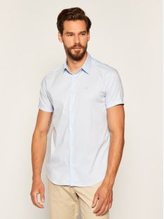Emporio Armani Koszula 8N1C10 1N06Z 0784 Niebieski Slim Fit
