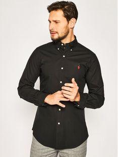 Polo Ralph Lauren Koszula Bsr 710705269 Czarny Slim Fit