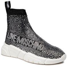 Sneakersy LOVE MOSCHINO - JA15333G1CIZ6000 Calza Nero