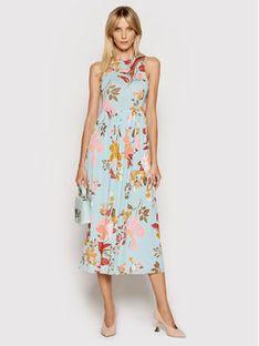 Marella Sukienka letnia Odesssa 36210512 Niebieski Regular Fit