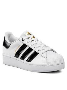 adidas Buty Superstar Bold W FV3336 Biały