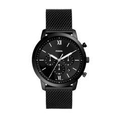 Zegarek FOSSIL - Neutra Chrono FS5707 Black/Black