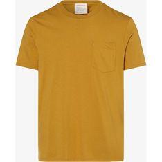 T-shirt męski ARMEDANGELS bez wzorów na wiosnę casual