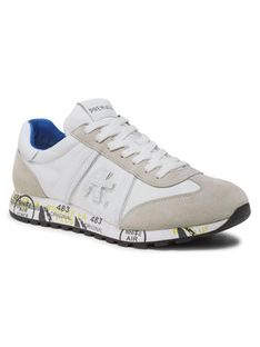 Premiata Sneakersy Lucy 206E Biały