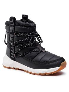 The North Face Śniegowce Thermoball Lace Up NF0A4AZGVD6 Czarny