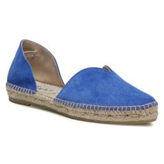 Espadryle MANEBI -  Open-Side Flats M 3.0 O0 Electric Blue