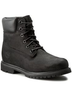 Timberland Trapery 6In Premium Boot 8658A/TB08658A0011 Czarny