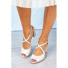 Sandały damskie Sergio Leone bialy