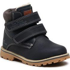 Buty zimowe dziecięce Tom Tailor trapery na rzepy