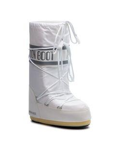 Moon Boot Śniegowce Nylon 14004400006 Biały