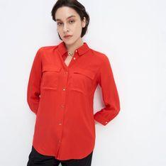 Mohito - Wiskozowa koszula - Czerwony