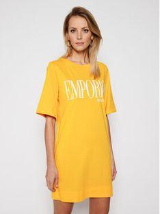 Emporio Armani Sukienka codzienna 262676 1P340 15362 Żółty Regular Fit