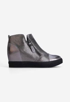 Sneakersy ciemno szare Théophile