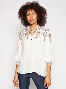 Desigual Bluza Indira 21SWBW49 Biały Regular Fit