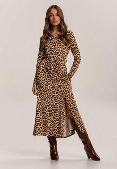 Camelowa Sukienka Priselin
