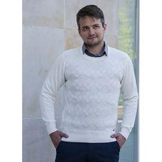 Sweter męski M. Lasota jesienny gładki