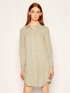 Tory Burch Sukienka koszulowa Cora 75266 Kolorowy Regular Fit