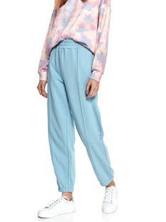 Spodnie dresowe z gumką w pasie