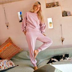 Mohito - Spodnie dresowe - Różowy