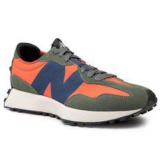 Sneakersy NEW BALANCE - MS327TB Pomarańczowy