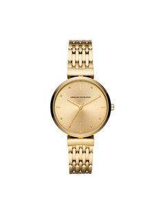Armani Exchange Zegarek Zoe AX5902 Złoty