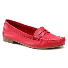Mokasyny TAMARIS - 1-24213-26 Red 500