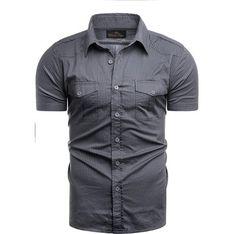 Koszula męska Risardi z krótkimi rękawami