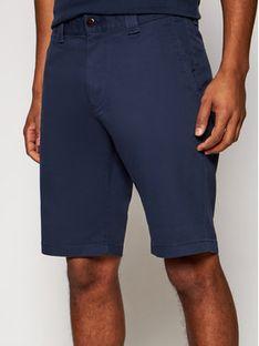 Tommy Jeans Szorty materiałowe Tjm Scanton Chino DM0DM11076 Granatowy Slim Fit