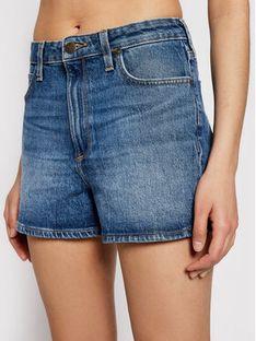 Lee Szorty jeansowe Carol L37CMWMQ Niebieski Regular Fit