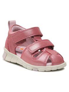 ECCO Sandały Mini Stride Sandal 76113101399 Różowy