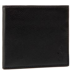 Duży Portfel Męski POLO RALPH LAUREN - Ongoing 405526310003 Black