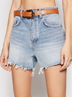 Liu Jo Szorty jeansowe UA1126 D4613 Niebieski Regular Fit