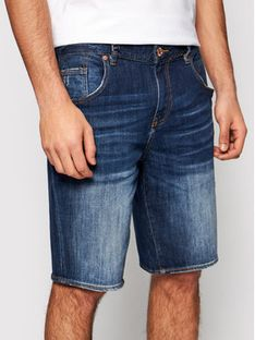 Armani Exchange Szorty jeansowe 3KZJ80 Z1LTZ 1500 Granatowy Slim Fit