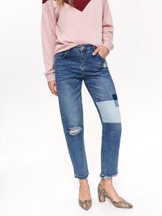 Spodnie długie damskie rurki