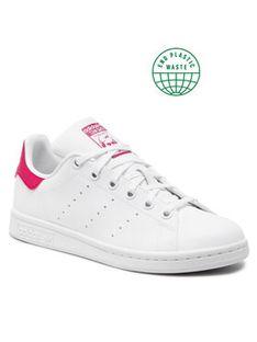 adidas Buty Stan Smith J FX7522 Biały