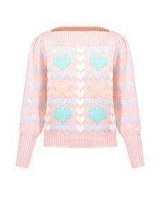 Sweter LOVESHACKFANCY GIZELA