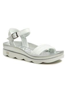 Carinii Sandały B5516 Biały