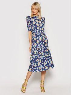 Lauren Ralph Lauren Sukienka codzienna 200831945001 Niebieski Regular Fit