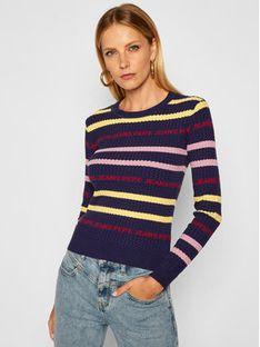 Pepe Jeans Sweter School Girl PL701629 Granatowy Regular Fit