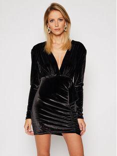 Pepe Jeans Sukienka koktajlowa DUA LIPA Tracy PL952763 Czarny Regular Fit