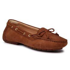 Mokasyny CLARKS - C Mocc Boat2 261564254 Tan Leather