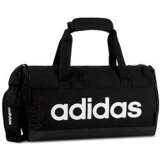 Torba adidas - Lin Duffle XS FL3691 Black/Black/White
