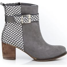 Botki Zapato szary