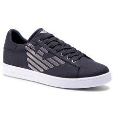 Sneakersy EA7 EMPORIO ARMANI - X8X001 XK124 E593 Black/Gunmetal