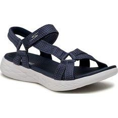 Sandały damskie Skechers z tworzywa sztucznego