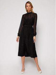 Tory Burch Sukienka codzienna Devore 62152 Czarny Regular Fit