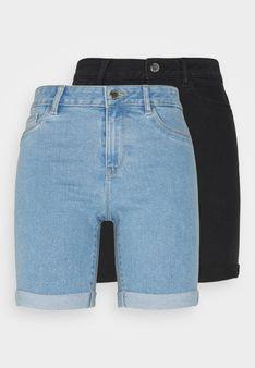 ONLY Petite - Szorty jeansowe - jasnoniebieski