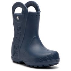Kalosze CROCS - Handle It Rain Boot Kids 12803 Navy