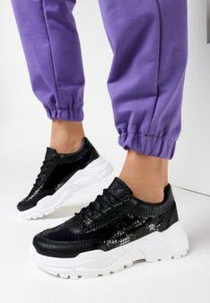 Czarne Sneakersy Cahrieth