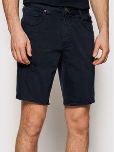 Armani Exchange Szorty jeansowe 3KZJ80 Z1AAZ 1510 Granatowy Slim Fit